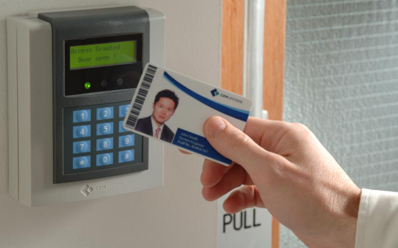 Key Card Access : Access control manchester lock security